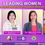 LEADING WOMEN: Sangguniang Bayan's empowered workforce