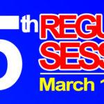 35TH REGULAR SESSION OF SANGGUNIANG BAYAN – MARCH 17, 2020