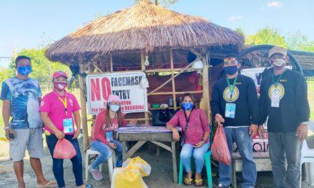 LGU Midsayap namahagi ng tulong para sa barangay frontliners