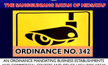 Paglalagay ng CCTV Camera at Checkpoints hiniling ng SB Midsayap sa mga otoridad