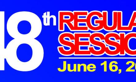 48th Regular Session of Sangguniang Bayan of Midsayap – June 16, 2020