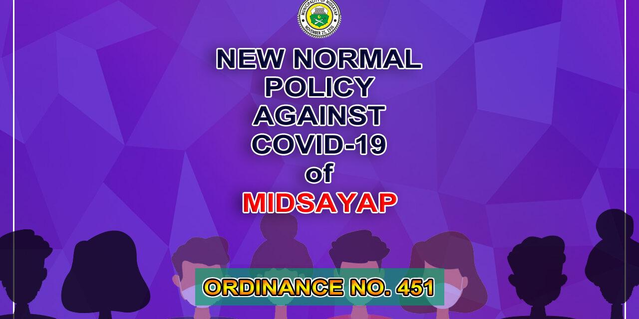 SB Midsayap nagpasa ng New Normal Policy Against COVID-19