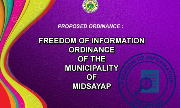 Freedom of Information isinusulong sa Sangguniang Bayan ng Midsayap