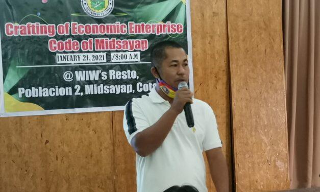 Revision of Economic Enterprise Code of Midsayap begins