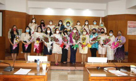 Sangguniang Panlalawigan of Cotabato honors women legislators