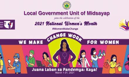 International Women's Day ipinagdiwang sa bayan ng Midsayap