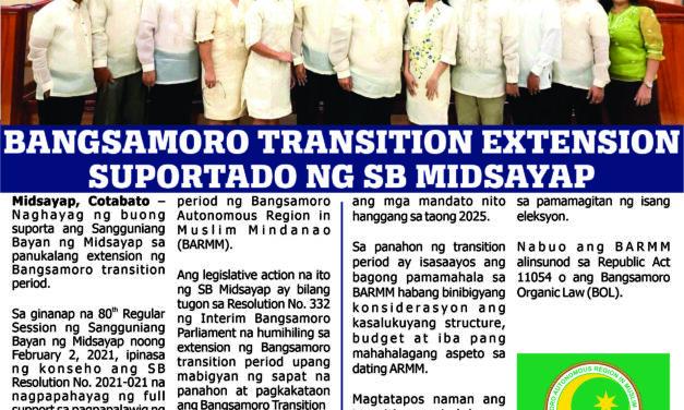 NEWSLETTER OF THE SANGGUNIANG BAYAN OF MIDSAYAP | ISSUE NO. 2