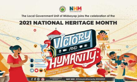LGU Midsayap joins the celebration of the 2021 National Heritage Month