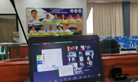 SB Regular Sessions, Committee Meetings gaganapin via virtual platform