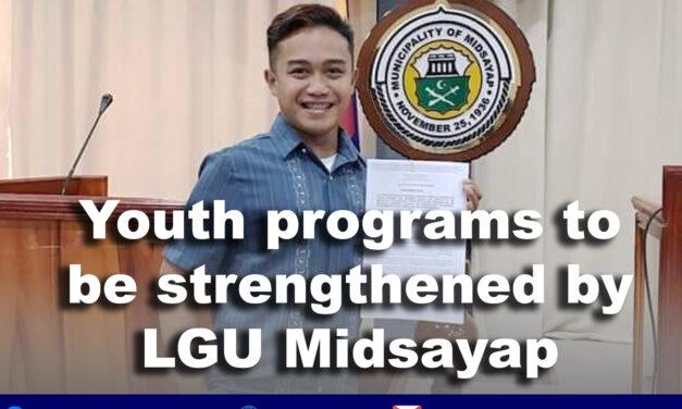 LGU Midsayap pushes for youth-oriented programs