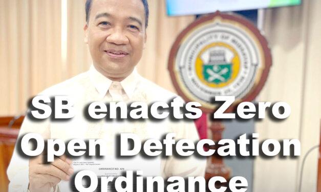 SB Midsayap enacts Zero Open Defecation Ordinance